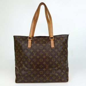 Louis Vuitton Monogram Cabas Mezzo Zip Toe MM